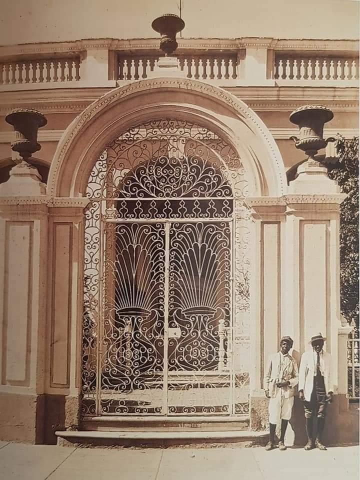Antigua casa de Francisco López García en los años 30