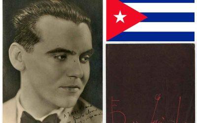 Federico García Lorca en La Habana, crónica de un deslumbramiento