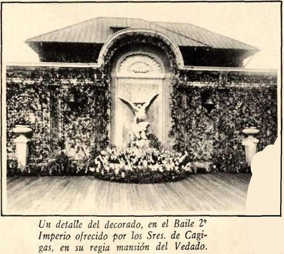 jardin del palacio de los Marqueses de Pinar del Rio Vedado