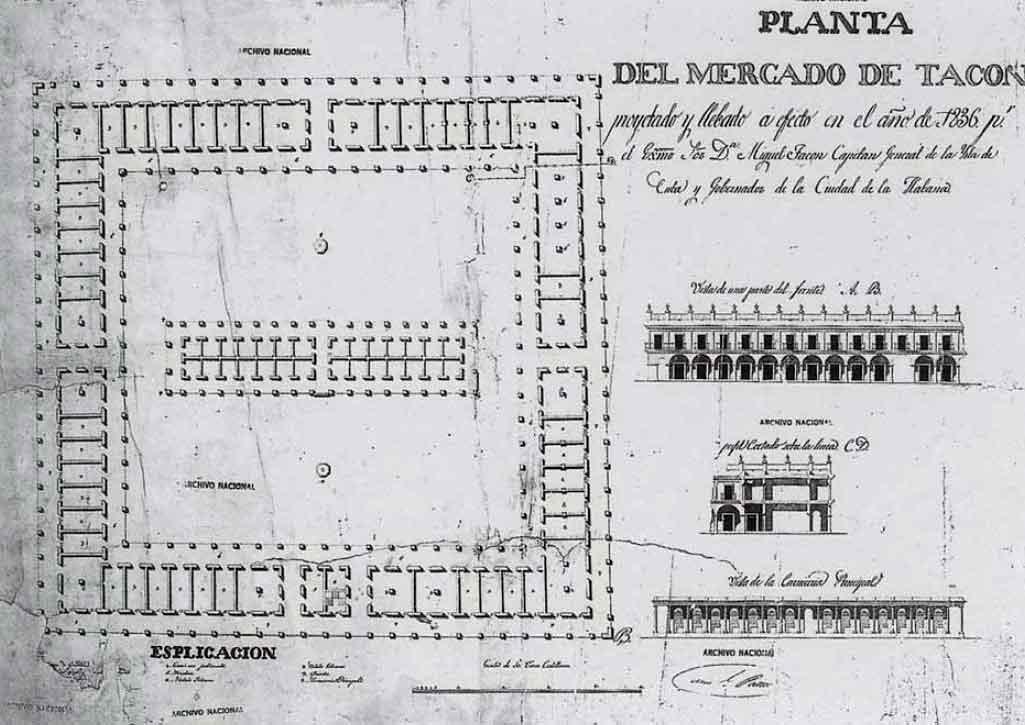 plano mercado de tacon plaza del vapor