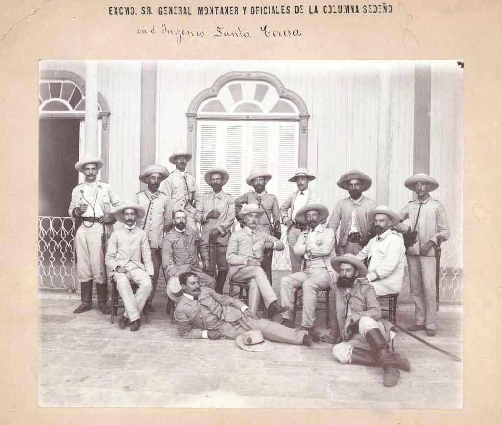 tropas espanolas alto mando