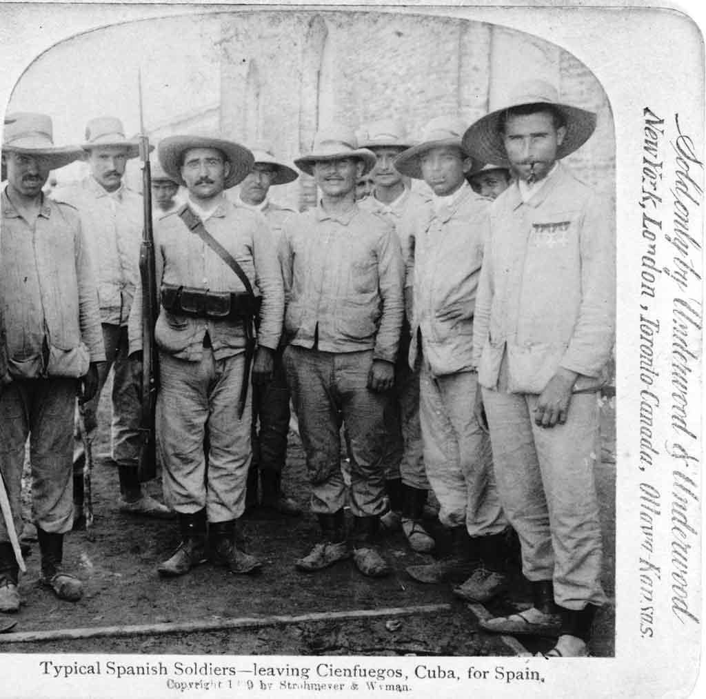 tropas espanolas en cienfuegos 1899