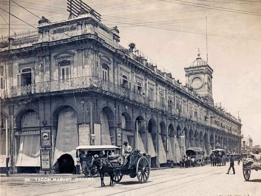 Plaza del Vapor, Mercado de Tacón