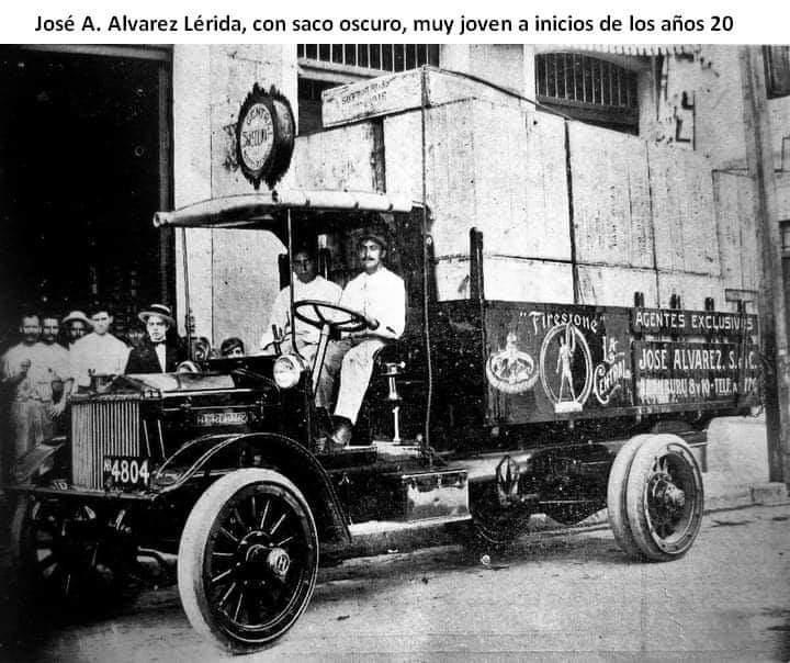 Camion de Firestone Habana Jose Antonio Alvarez