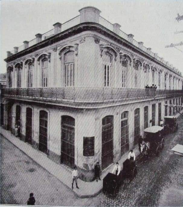 Edificio de la antigua Compañía Litográfica de La Habana