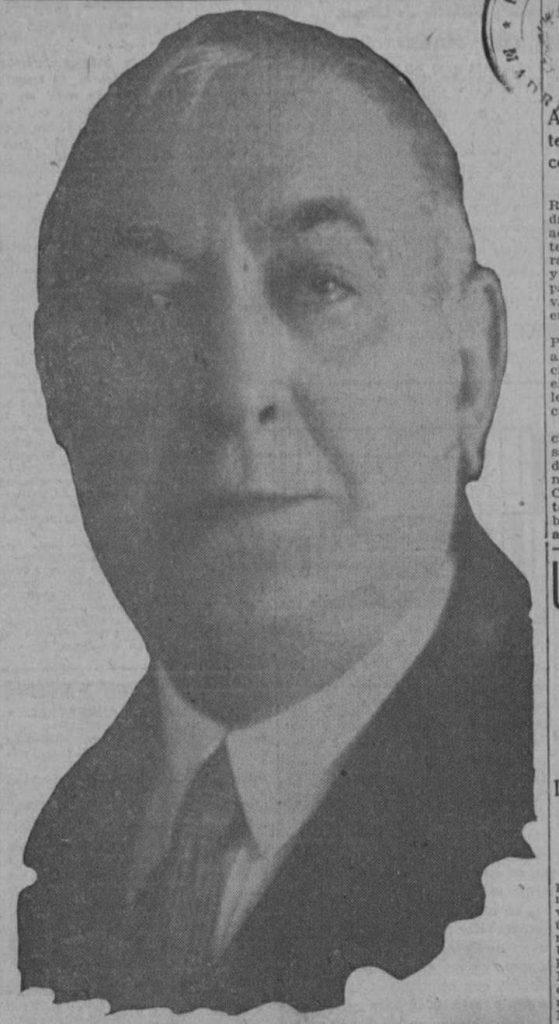 Pedro Gómez Mena propietario de Villa Enriqueta