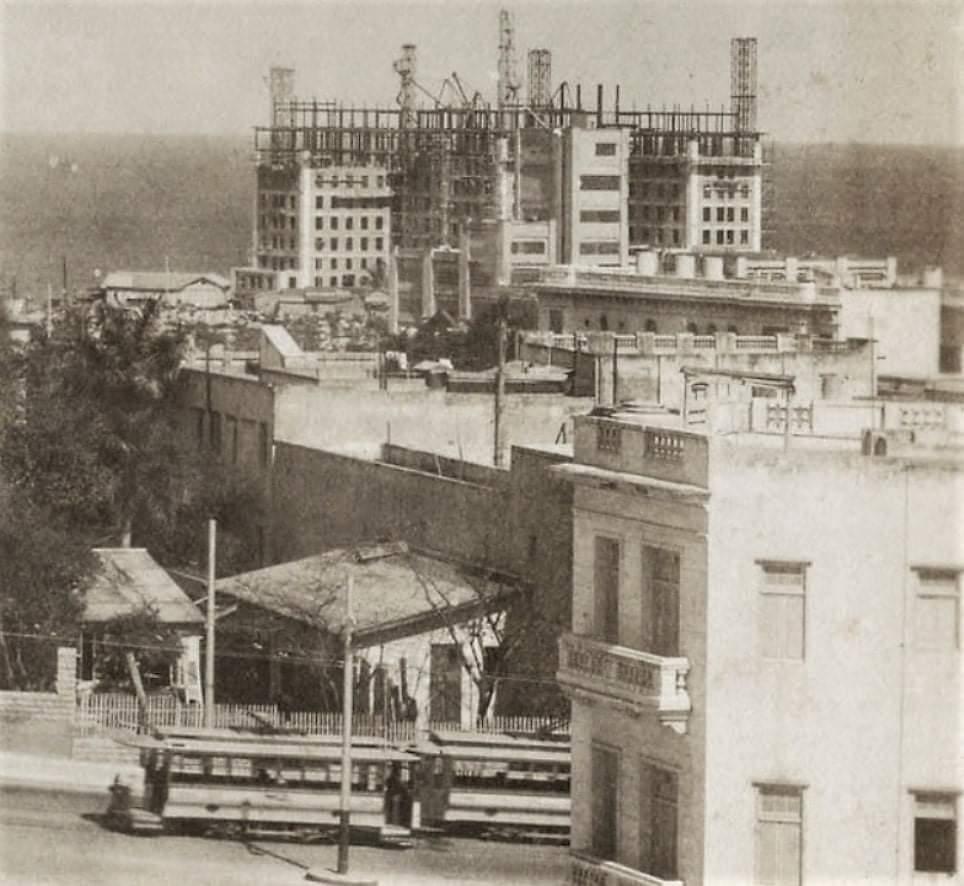 hotel nacional de cuba en construcción