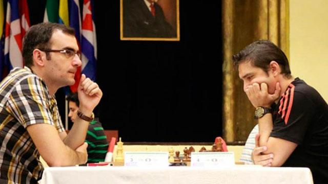 Lázaro Bruzón contra Leinier Domínguez