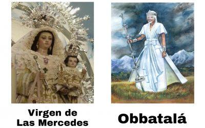 La Virgen de las Mercedes y la justicia de Obbatalá
