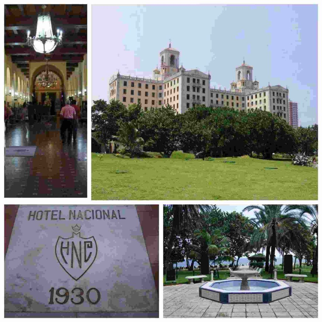 Hotel nacional de Cuba collage 2021