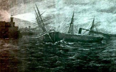 El desastre del Sánchez Barcaístegui y la leyenda de un tesoro en La Habana