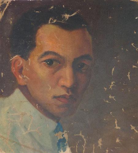 autorretrato 1923 Wifredo lam