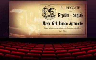 «El rescate del Brigadier Sanguily» una película cubana de acción histórica producida en 1917 (Cine Cubano de antaño)