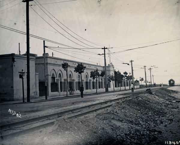 hospital nuestra senora de las mercedes en 1908