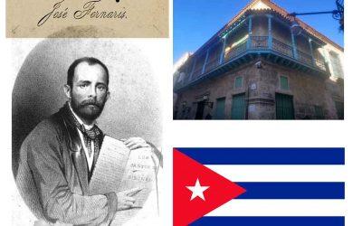 El poeta José Fornaris y su residencia habanera de Mercaderes 213