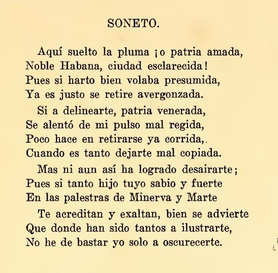 jose maria de la torre soneto