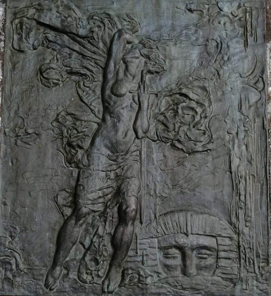 monumento a Carlos Aguirre en la habana 1