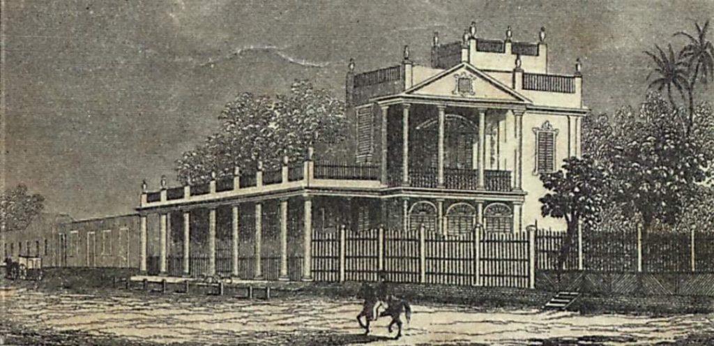 Casa Quinta de los Condes de Fernandina en la Calzada del Cerro