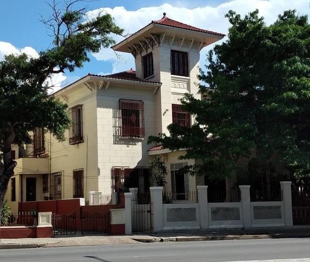 Casa de José Rueda Bustamante_Vedado_Habana