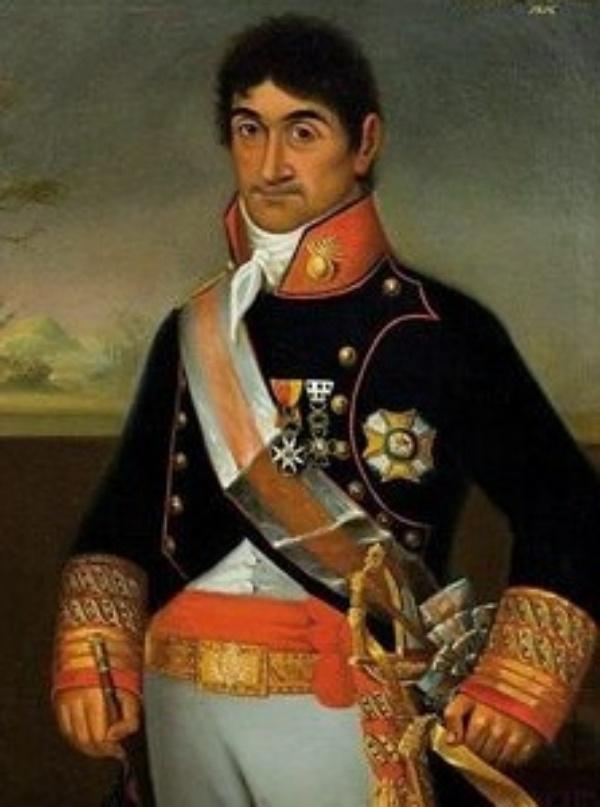 El Capitán General de Cuba José María Cienfuegos y Jovellar, en cuyo honor se nombró la calle Cienfuegos de La Habana y la ciudad de Cienfuegos junto a la bahía de Jagua
