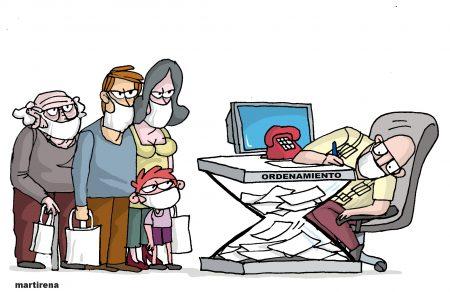 Martirena Caricatura Ordenamiento