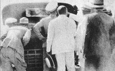 Atentado y muerte del Dr. Clemente Vázquez Bello