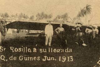 El vuelo de domingo rosillo en 1913