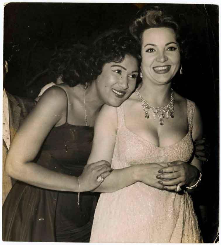olga-guillot-y-Sarita-Montiel-1950