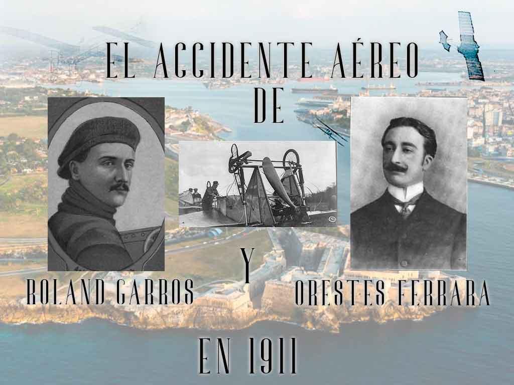 accidente aéreo - roland-garros-orestes-ferrara-cuba-accidente